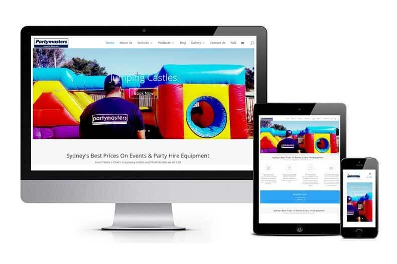 Partymasters Website